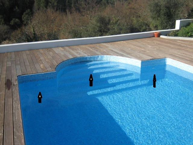 Swimming Pool water jets what do they do - The Castelo Blog~
