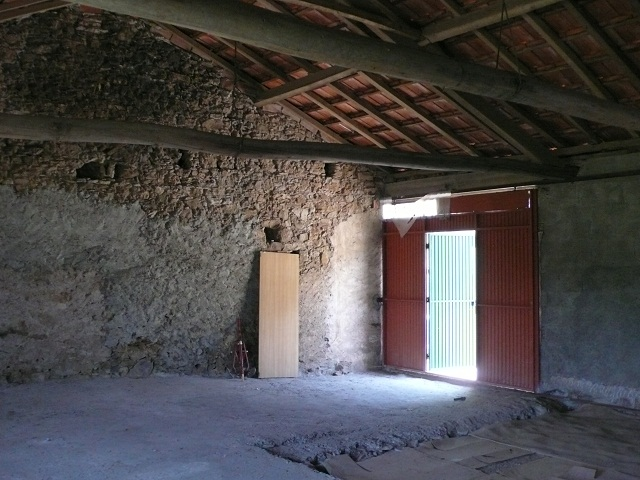 interior of a house during the survey