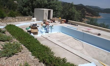 swimming pool liner portugal, dampfix, casteloconstruction