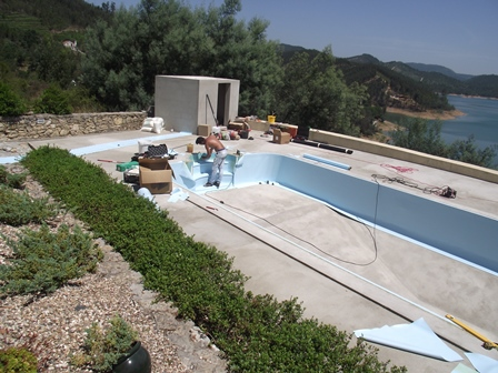 swimming pool liner portugal, dampfix, casteloconstruction