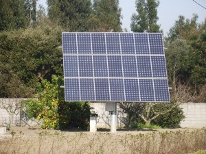 self generation of solar power