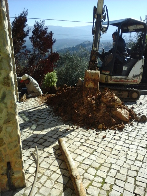 Project managing in Portugal, castelo construction