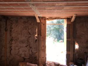 Doors through stone house walls, Houseinpenela,